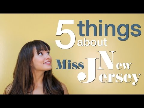 5 things about Miss New Jersey