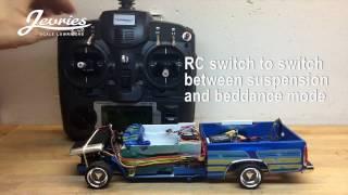 RC lowrider beddancer mini truck part 3