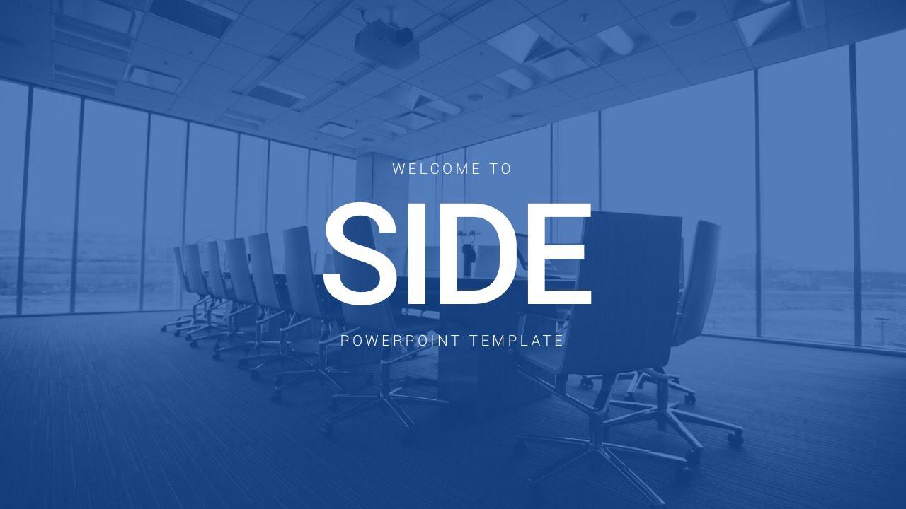 Side powerpoint template youtube toneelgroepblik Gallery