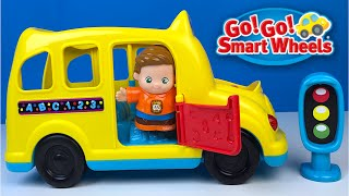 VTECH GO! GO! SMART FRIENDS LEARNING WHEELS SCHOOL BUS TOYS FOR TODDLERS - MUSIC LIGHTS AND SOUND
