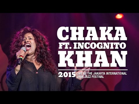 Chaka Khan ft Incognito  at Java Jazz Festival 2015