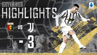 Genoa 1-3 Juventus | Dybala & Ronaldo Score to Secure Away Win! | EXTENDED Highlights