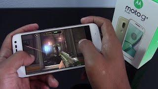 Moto G4 Play, rendimiento en juegos