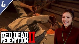 Drinking with Lenny & Rescuing Micah Bell | Red Dead Redemption 2 Pt. 6 | Marz Plays
