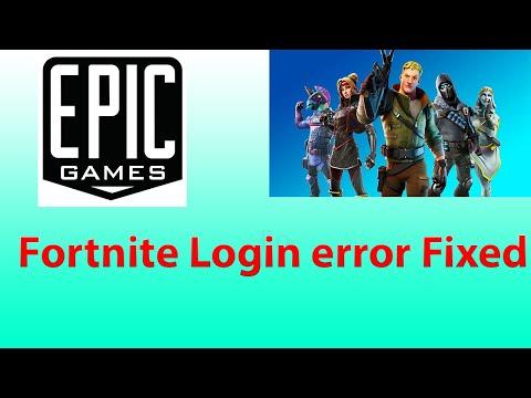 How To Fix Fortnite Login Error On PC (2020)