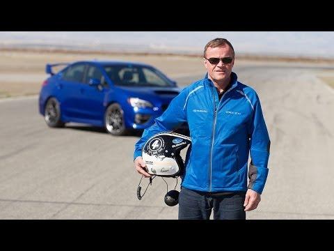 Watch: WRC Champ Tommi Mäkinen Thrash 2015 WRX STI at Buttonwillow Raceway