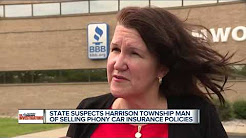 State suspects Harrison Township man of selling phony car insurance policies