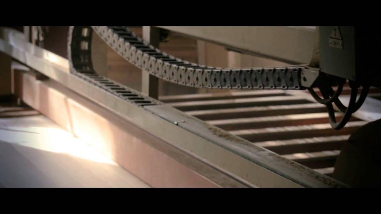 Ebs Film Usinage Escalier Bois