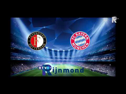 Compilatie Radio Rijnmond Feyenoord - Bayern München, 10 oktober 2001, 2-2