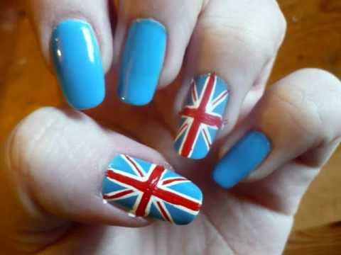 Queens Diamond Jubilee London Olympics 2012 Union Jack Flag Nail