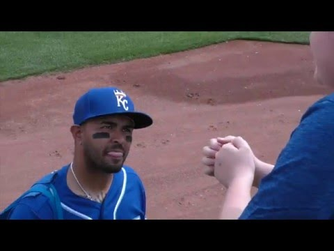 Interview Christian Colon and He Gets Hit!