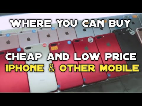 Where You Can Buy Cheap And Low Price IPhone & Other Mobile In DUBAI