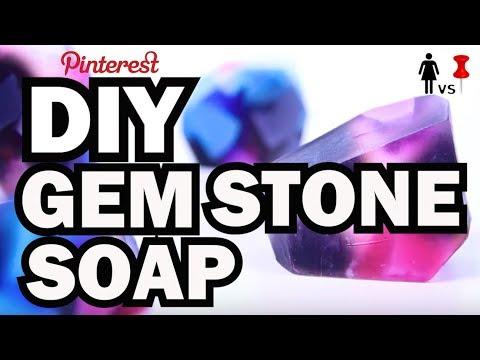 DIY Gem Stone Soap, Corinne VS Pin #38