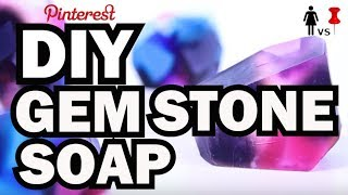 DIY Gem Stone Soap, Corinne VS Pin #38