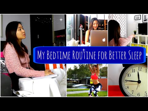 My Bedtime Routine for Better SLEEP (10 Tips)