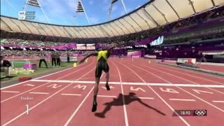 BOLT 200M world record London 2012 xbox