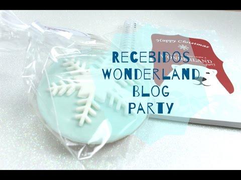 Recebidos Wonderland Blog Party!!!!