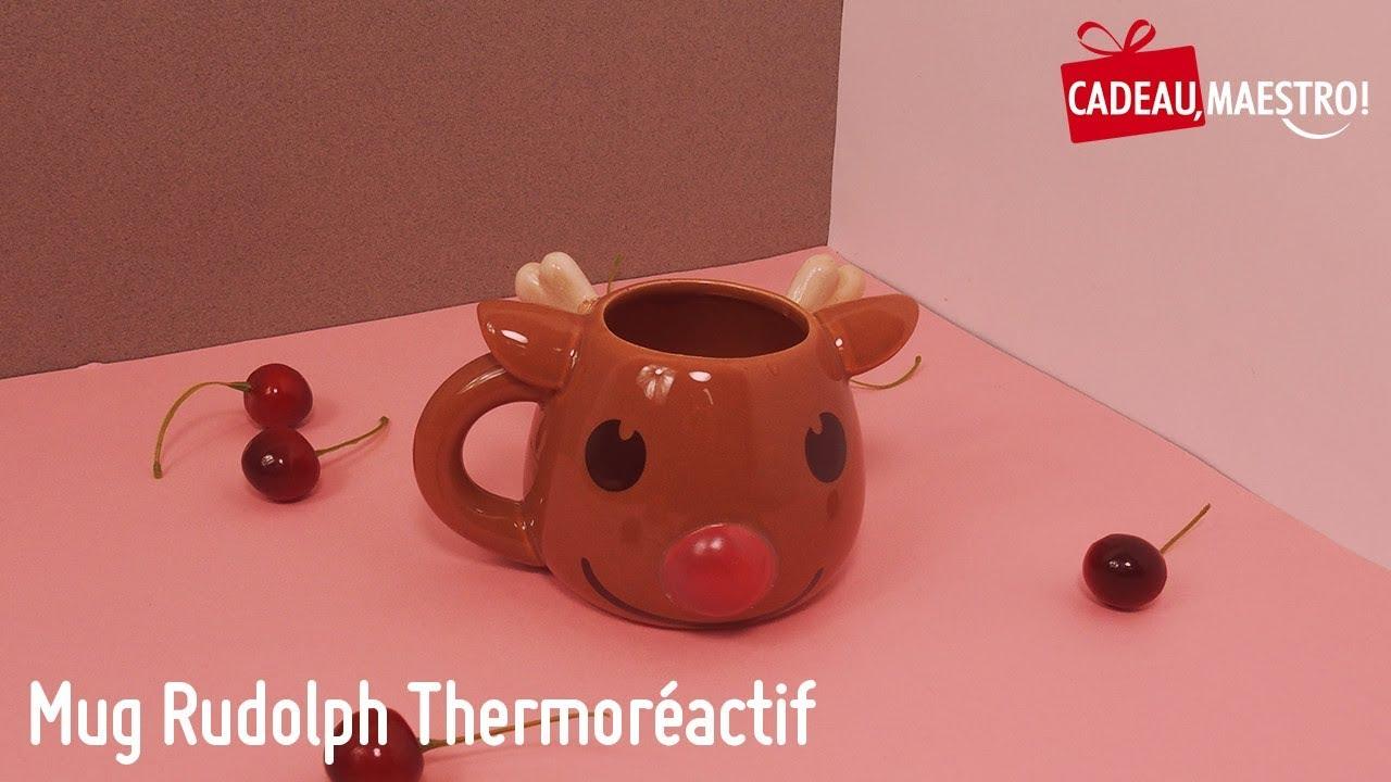 Mug Rudolph Thermoréactif - Cadeau Maestro