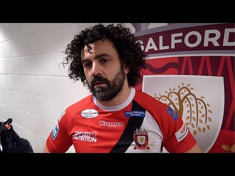 Rhys Williams on Salford Red Devils' win over Leigh, his tries & more!