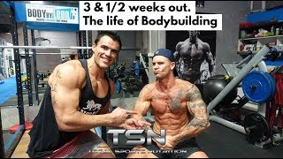 3 & 1/2 WEEKS OUT | THE LIFE OF NATURAL BODYBUILDING
