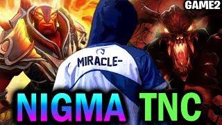 NIGMA vs TNC — Epic Long Teamfight! Leipzig Major Dota2