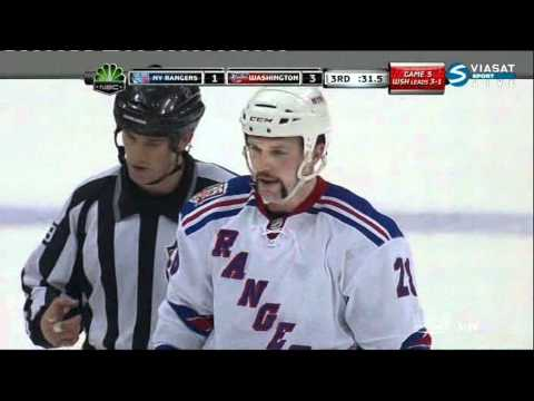 Goal Wojtek Wolski (Rangers & Capitals) NHL April 23, 2011