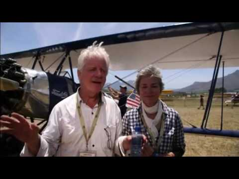 Vintage plane rally in South Africa