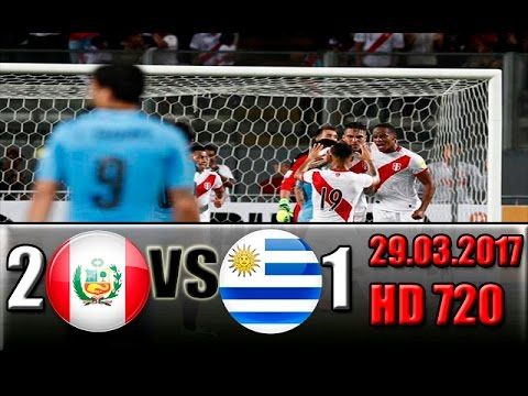 Download Peru 2 - 1 Uruguay  All Goals and Highlights !!! World Cup - Qualification 29.03.2017  HD