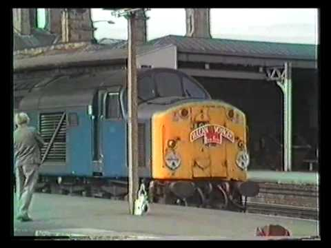40 082 thrashes out of Sheffield on the Skegness