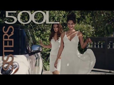 "Sexxyyy funny Girl 2013 ""Sisters"" Fiat 500L Commercial - Pubblicità Fiat 500L USA Sorelle"