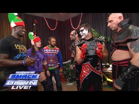 The Cosmic Wasteland Attempts To Destroy Christmas: SuperSmackDown, December 22, 2015