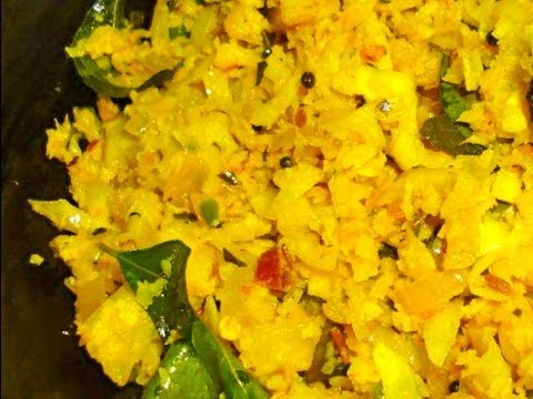 Cabbage Thoran Stir Fried Cabbage South Indian Style Youtube