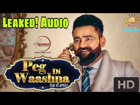 Peg Di Waashna - Amrit Maan (New Full Song) ft. DJ Flow | Desi EscoBar