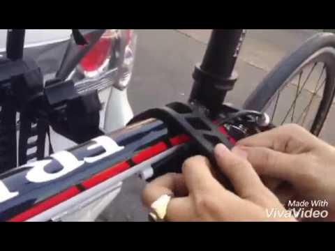 แร็คแขวนจักรยาน ยี่ห้อ : Soldier คลิปการติดตั้งแร็คแขวนจักรยาน Part 2