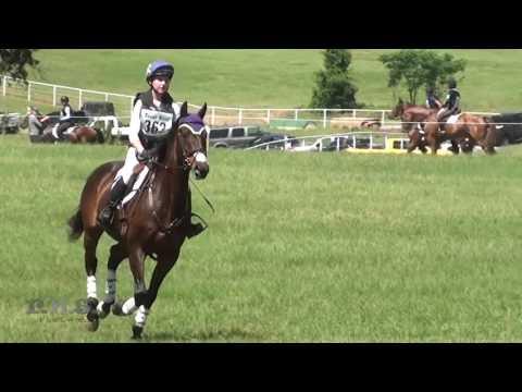 Audrey Green & Yoscha Bosche Texas Rose May CCI CIC & Horse Trials 2017