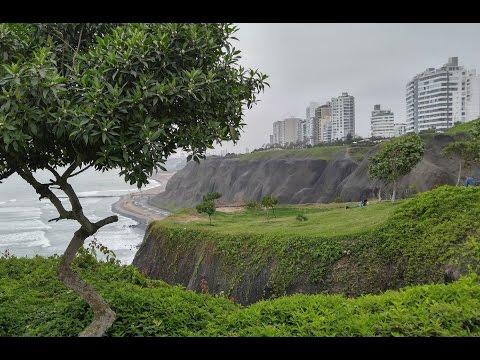 One Day in Fancy Miraflores District Lima Peru
