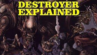 THE DESTROYER ALIEN: EXPLAINED - ULTRAMORPH - JOCK-XENOMORPH