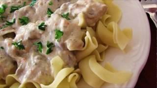 Recipe: Slow Cooker Chicken Stroganoff