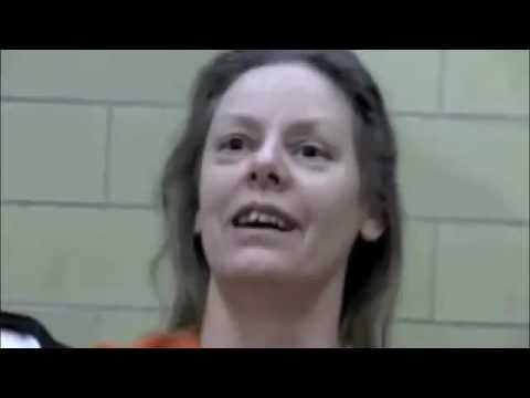 Serial killer Aileen Wuornos the day before her execution.