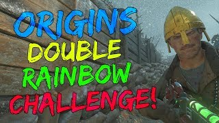 Double Rainbow Challenge Fail w/ OG ZombieCentral | Origins |