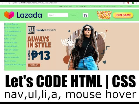 Practicing HTML | CSS | BootStrap Tutorial Video thumbnail