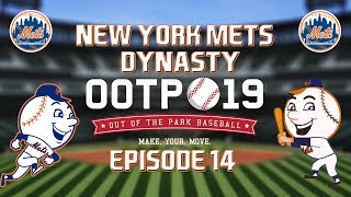 Out of the Park Baseball (OOTP) 19: New York Mets Dynasty - 2019 World Series [EP14]