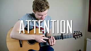Attention Played on Acoustic Guitar (Fingerstyle)