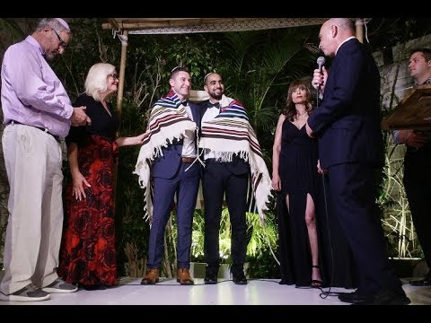 gay jewish wedding