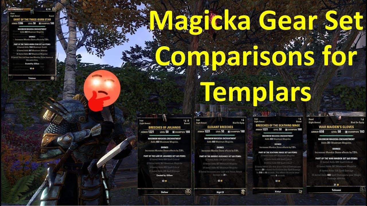 ESO Magic Templar DPS Build - Deltia's Gaming