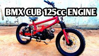 Bmx Cub Sepeda Motor Dari Honda Kharisma 125cc Youtube