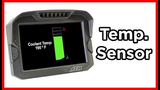 homepage tile video photo for INSTALLING and CALIBRATING a TEMPERATURE SENSOR in DashDesign