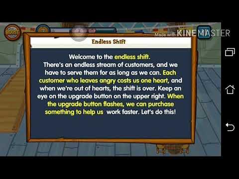 SpongeBob Diner Dash Deluxe:Krusty Krab(Endless Shift)