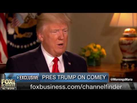 Donald Trump Says James Comey Saved Hillary Clinton from a Trial or Worse