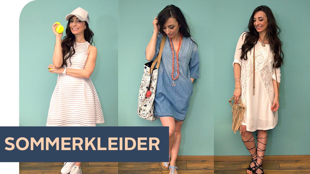 How To Style 3 Outfit Ideen Für Das Sommerkleid Refashion Otto